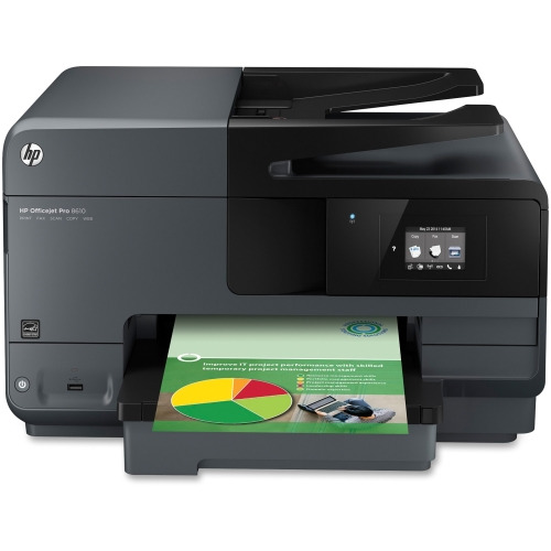 Hp Officejet Pro 8600 8610 Inkjet Multifunction Printer Copier Fax