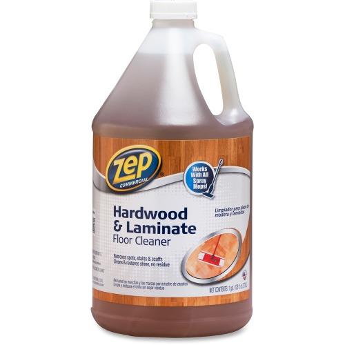 Zep Commercial Hardwoodlaminate Floor Cleaner Zpezuhlf128