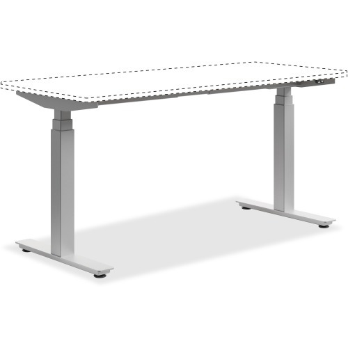 HON Heightadjustable Worksurface Table HONHABSF Shopletcom - Hon computer table