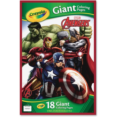 Crayola Marvel Avengers Giant Coloring Pages 18 19 12quot Rhshoplet: Crayola Giant Coloring Pages Avengers At Baymontmadison.com