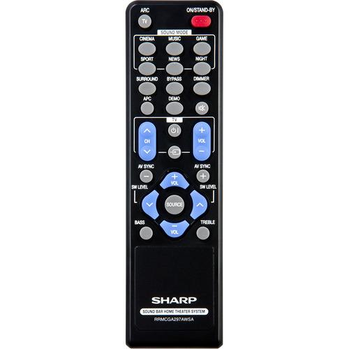 Sharp HT, 3D Sound, DTS, Dolby Digital - Bluetooth - SB602 2 1 Sound