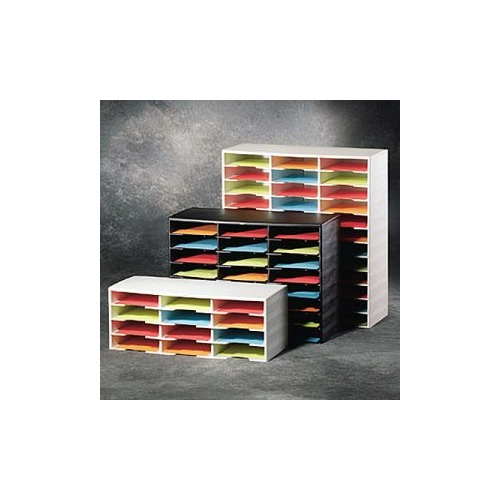 fellowes smart stack stackable literature organizer