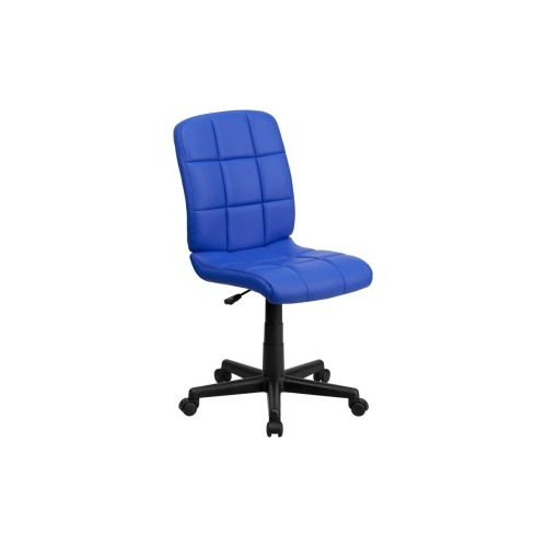 Charmant Flash Furniture Blue Vinyl Office Chair