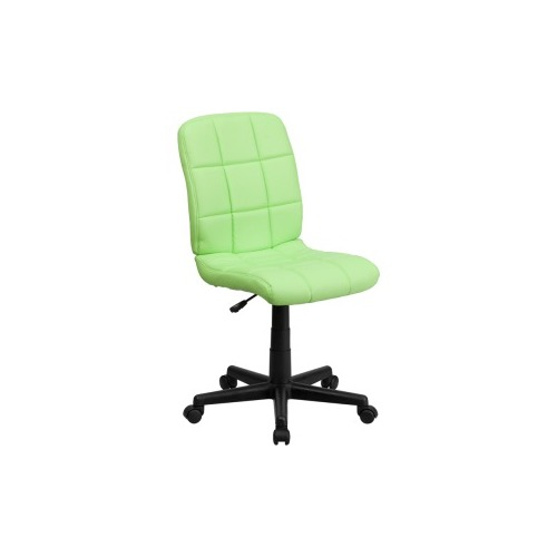 go green office furniture flash furniture green vinyl office chair flsgo16911greengg