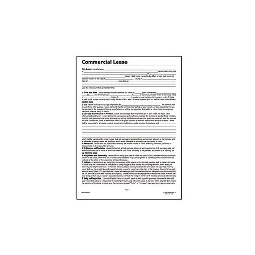 Socrates Commercial Lease Real Estate Forms - Somlf140 - Shoplet.Com