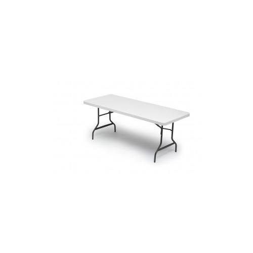 Iceberg Enterprises Iceberg IndestrucTable TOO Folding Table, 500 Series,  Platinum, ...