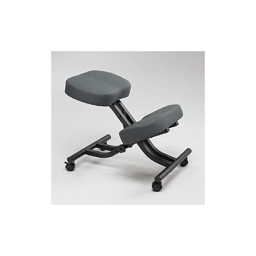 safco knee-sit backless chair - saf6851bl - shoplet