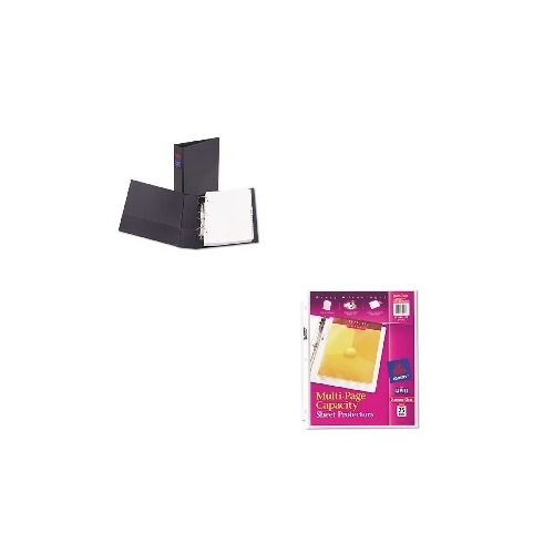 Three Rings Office On Value Kit Avery Legal Threering Durable Binder Round Rings ave06401 Wround Ave06401