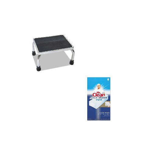 Outstanding Value Kit Medline Foot Stool Miimds80430I And Mr Clean Magic Eraser Foam Pad Pag82027 Shoplet Exclusive Value Kits Gmtry Best Dining Table And Chair Ideas Images Gmtryco