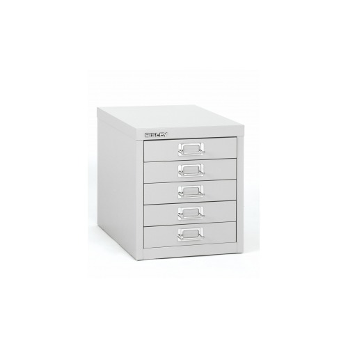 Bisley 5-Drawer Steel Desktop Multidrawer Storage Cabinet Light Grey  sc 1 st  Shoplet & Bisley 5-Drawer Steel Desktop Multidrawer Storage Cabinet Light ...