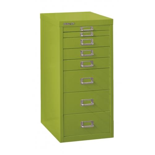 Bisley 8-Drawer Steel Multidrawer Storage Cabinet Green  sc 1 st  Shoplet & Bisley 8-Drawer Steel Multidrawer Storage Cabinet Green - BDSMD8GR ...