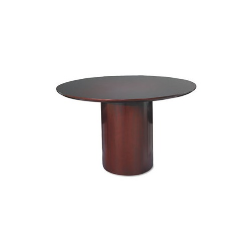 Mayline Napoli Series Round Conference Table Base MLNNCRBMAH - Conference table pedestal base
