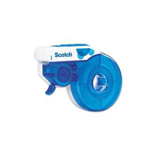 scotch h103c enclosed design desktop squeeze tape dispenser