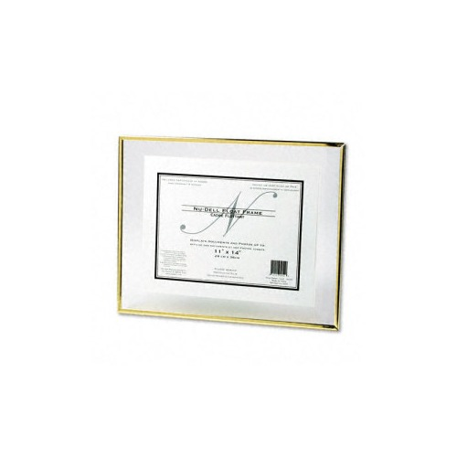 Nu-dell Floating Glass Front Award Frame w/Certificate - NUD35355 ...