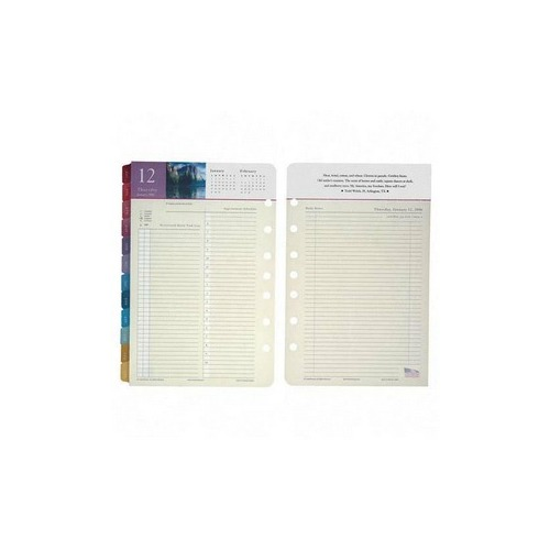 franklin covey spirit of america dated daily calendar refill