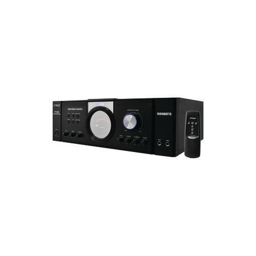 Pyle Home(r) PYLE HOME PT1100 1,000-Watt Power Amp, 1000W PWR AMP