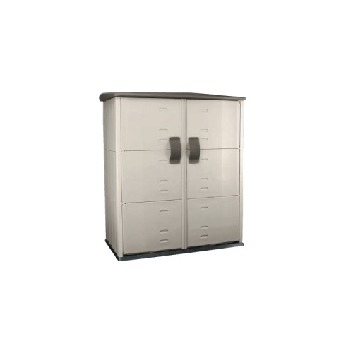 rubbermaid roughneck modular vertical outdoor storage shed