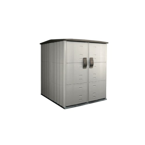 Merveilleux Rubbermaid Roughneck Modular Large Vertical Outdoor Storage Shed