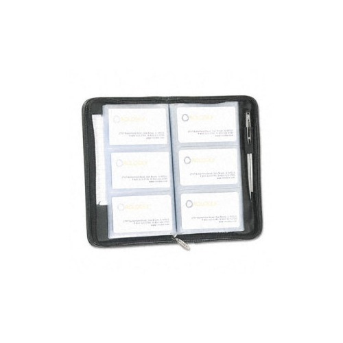 Rolodex Leather Organizerbusiness Card Book Holds 72 2 14 X 4