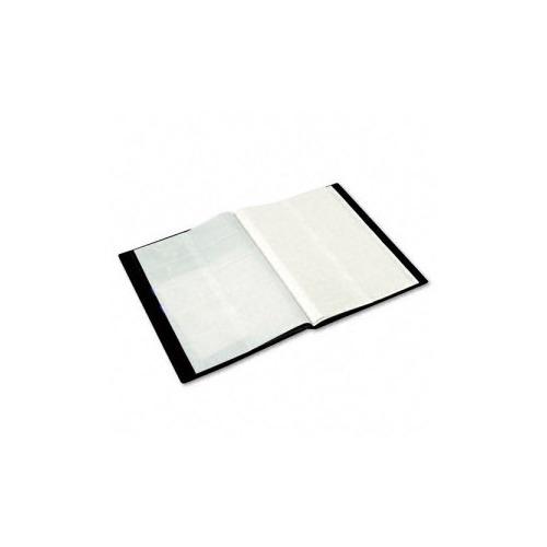 Rolodex Polypropylene Business Card Book Holds 240 2 Black 14 X
