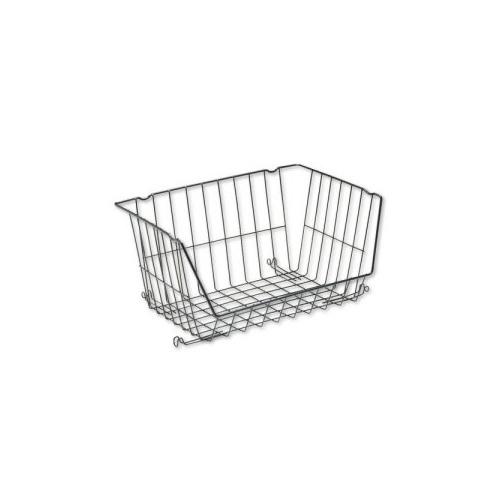 Rubbermaid Shelf Savers Large Stackable Basket Rub29886