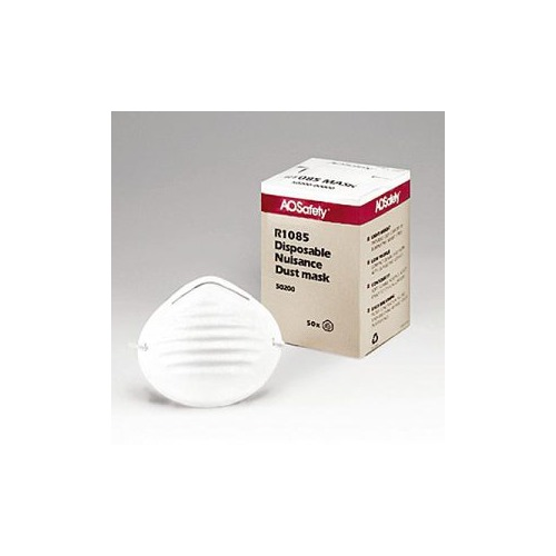 nuisance disposable dust mask box of 50