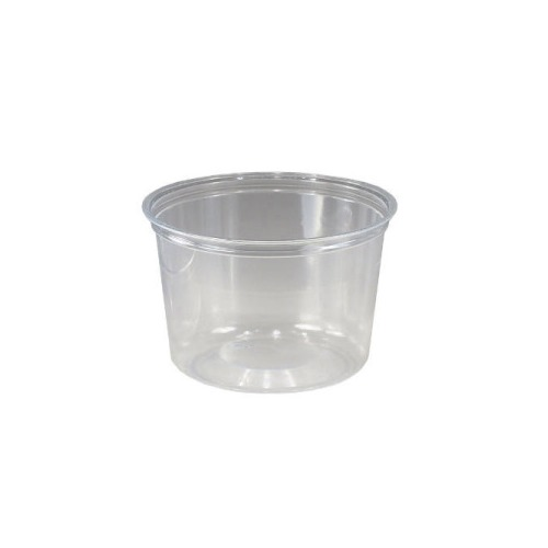 Solo Plastic Food Container Clear 16 3 4 Oz Sccgc166h