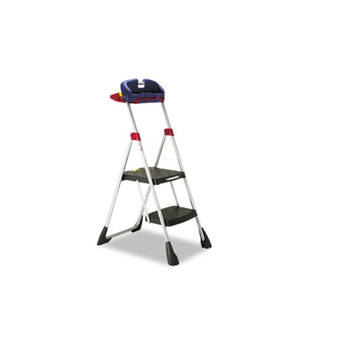 Outstanding Cosco Pro Tech Ii Work Platform Folding Step Stool Inzonedesignstudio Interior Chair Design Inzonedesignstudiocom