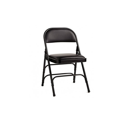 Phenomenal Samsonite 2800 Series Commercial Grade All Steel Vinyl Padded Folding Chair Pabps2019 Chair Design Images Pabps2019Com