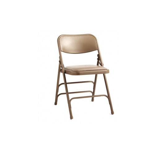Peachy Samsonite 2800 Series Commercial Grade All Steel Vinyl Padded Folding Chair Pabps2019 Chair Design Images Pabps2019Com