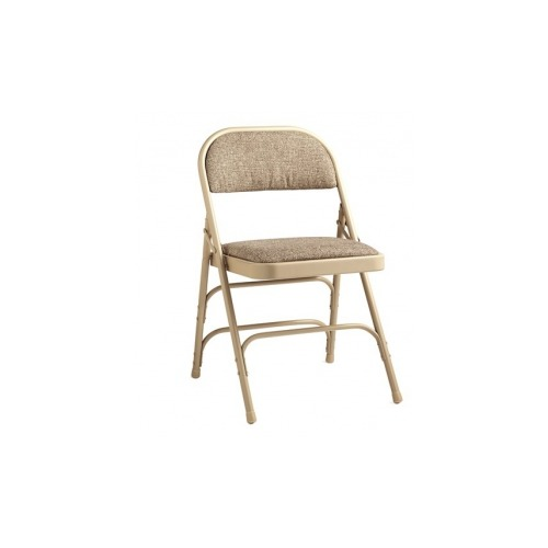 Pleasing Samsonite 2900 Series Commercial Grade All Steel Fabric Padded Folding Chair Theyellowbook Wood Chair Design Ideas Theyellowbookinfo