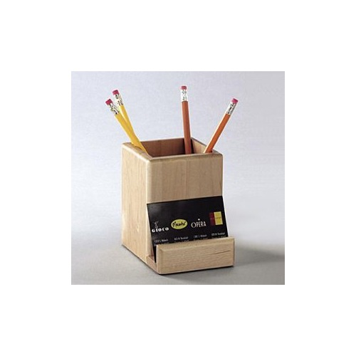 Merveilleux ELDON OFFICE PRODUCTS Wood Tones Pencil Supplies Holder With Business Card  Holder